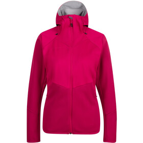 Mammut Ultimate VI SO Capuchon Jas Dames, sundown/sundown melange